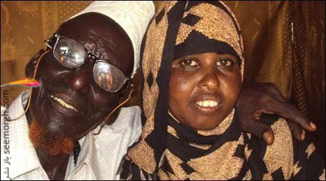 Ahmed Muhamed Dore and Safia