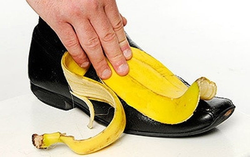 banana peel Shoe Shiner